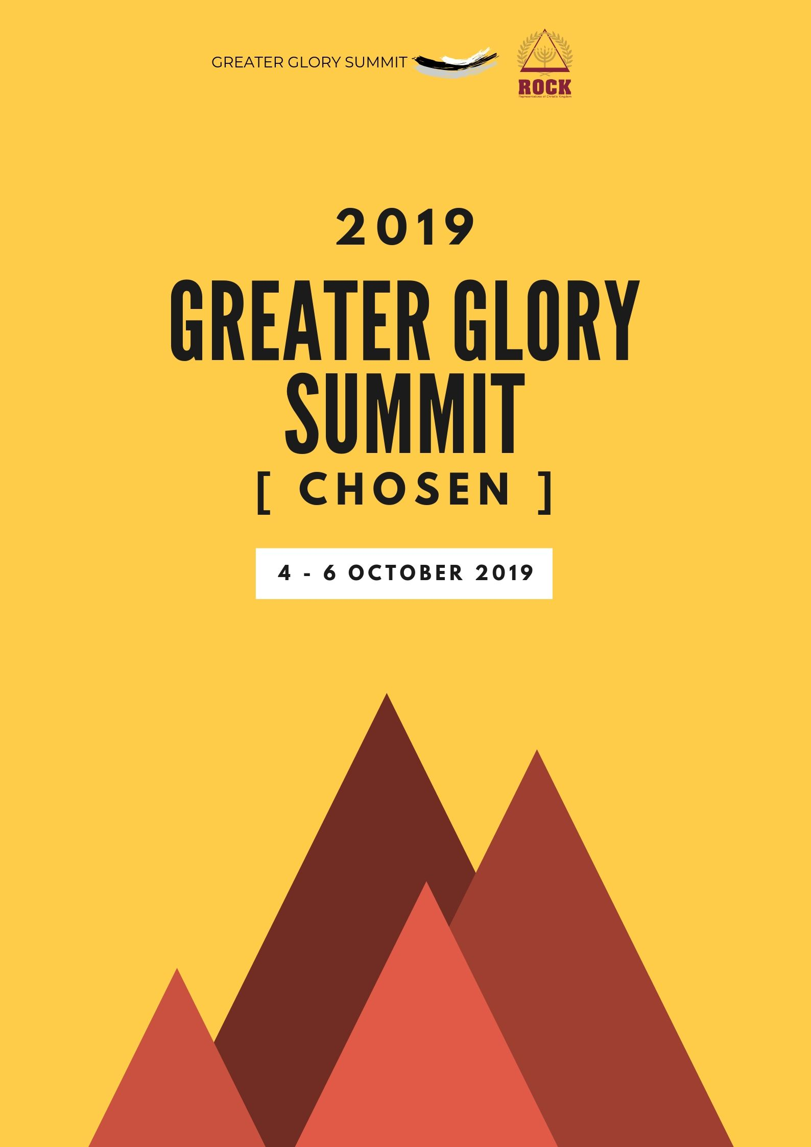 Greater Glory summit